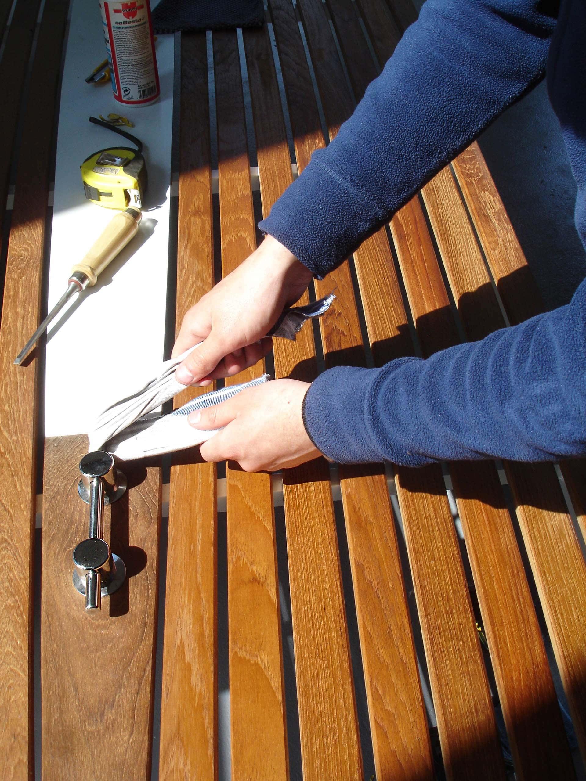 Design Tisch Sealine Nummer 6 Herstellung Werktstatt by Sebastian Bohry timeless design