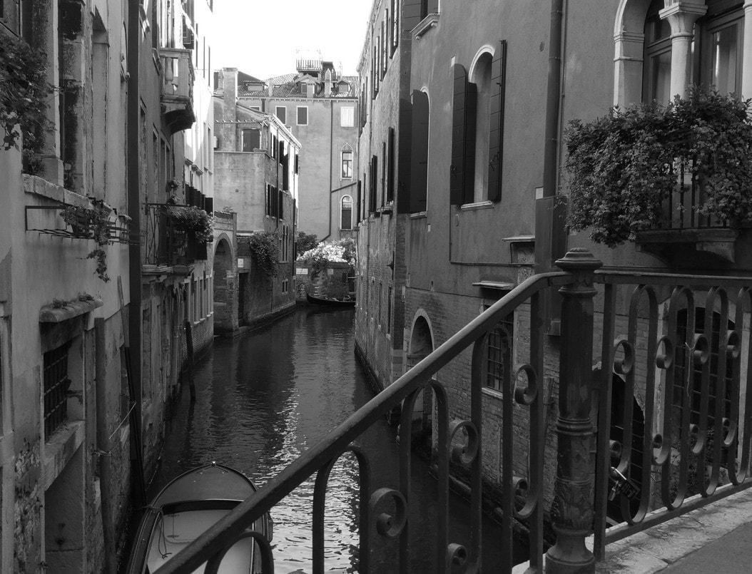 Venedig 2016 black white by Philipp König